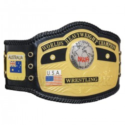 NWA WORLDS HEAVYWEIGHT CHAMPION BELT